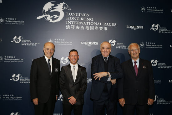 "Longines Flat Racing Event: Lanfranco ""Frankie"" Dettori honoured at the second Longines World's Best Jockey Award ceremony 3"