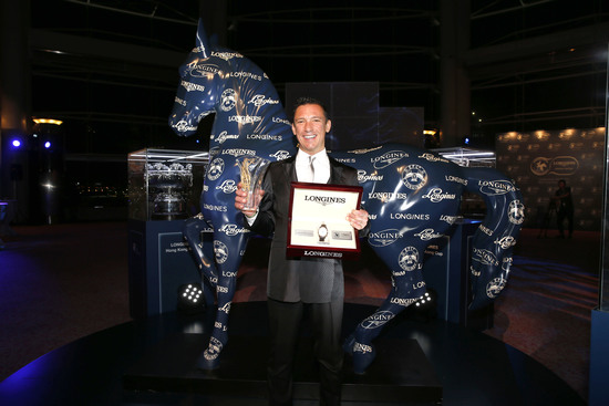 "Longines Flat Racing Event: Lanfranco ""Frankie"" Dettori honoured at the second Longines World's Best Jockey Award ceremony 8"