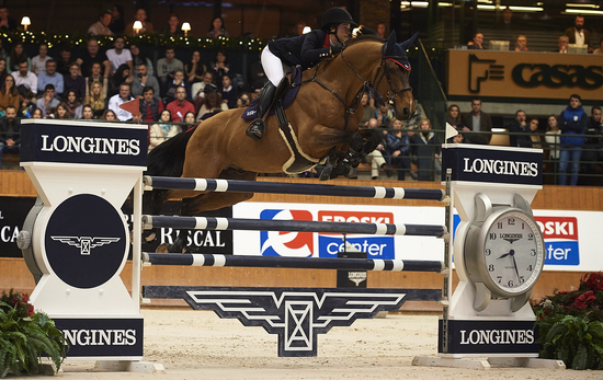 Longines Show Jumping Event: Lisa Nooren speeds to victory at the Longines Grand Prix of CSI A Coruña's winter edition 1