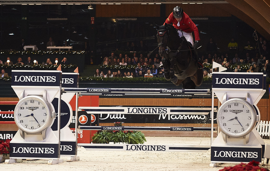 Longines Show Jumping Event: Lisa Nooren speeds to victory at the Longines Grand Prix of CSI A Coruña's winter edition 3