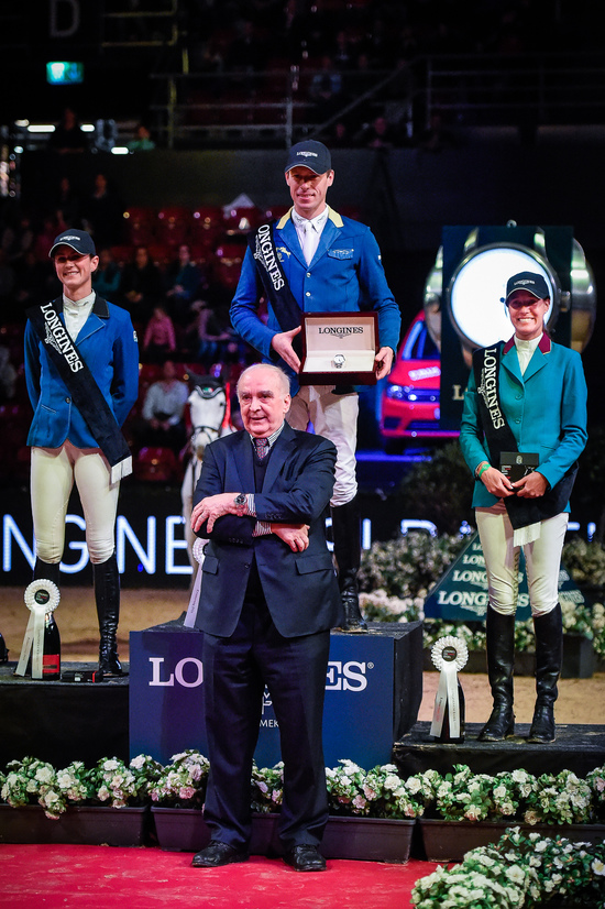 Longines Show Jumping Event: Christian Ahlmann wins the Longines Grand Prix in Basel 1