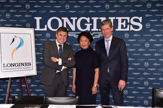 Longines Show Jumping Event: Longines World Equestrian Academy to promote equestrian sports in China 2