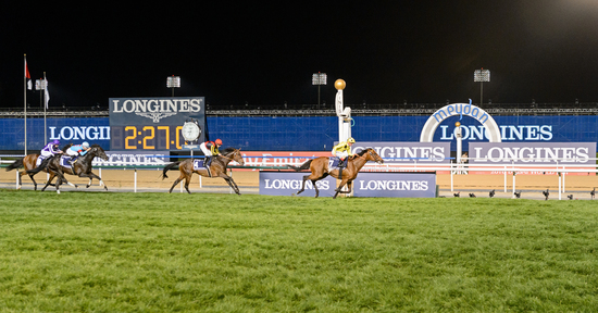 Longines Flat Racing Event: Longines timed the prestigious races of the Dubai World Cup 4