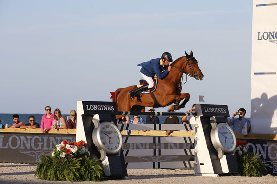 Longines Show Jumping Event: Miami Beach launched the 2016 Longines Global Champions Tour 3