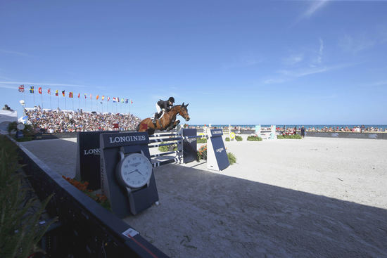 Longines Show Jumping Event: Miami Beach launched the 2016 Longines Global Champions Tour 5