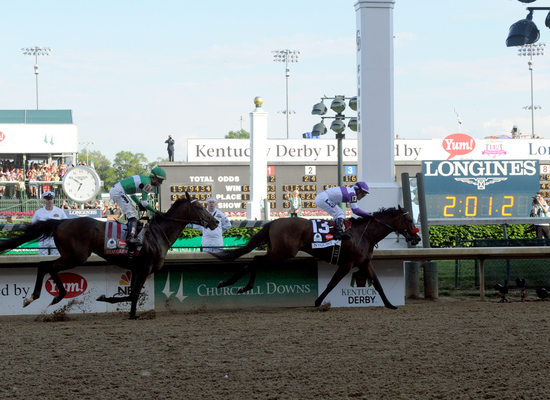 Longines Flat Racing Event: Nyquist Gains Victory at the 142nd Kentucky Derby 1