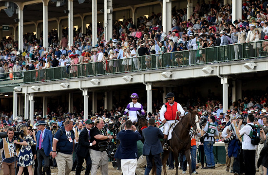 Longines Flat Racing Event: Nyquist Gains Victory at the 142nd Kentucky Derby 5