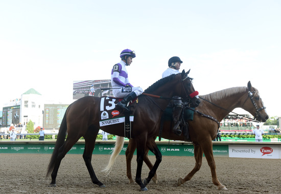 Longines Flat Racing Event: Nyquist Gains Victory at the 142nd Kentucky Derby 6