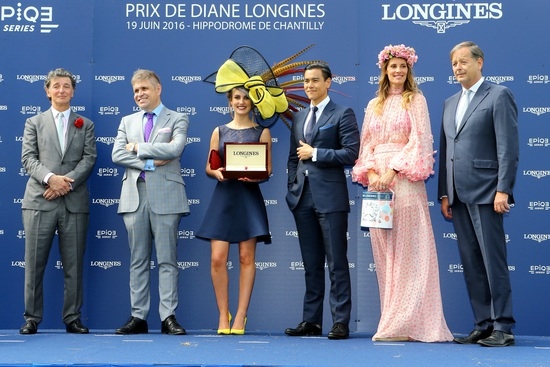 Longines Flat Racing Event: La Cressonnière is 2016 Prix de Diane Longines champion 3