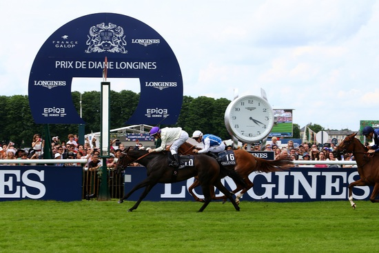 Longines Flat Racing Event: La Cressonnière is 2016 Prix de Diane Longines champion 4