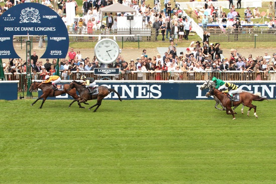 Longines Flat Racing Event: La Cressonnière is 2016 Prix de Diane Longines champion 8
