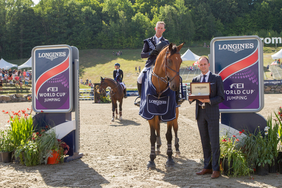 Longines Show Jumping Event: New season of the Longines FEI World CupTM Jumping North American League opens with the victory of Jonathan McCrea in Bromont 2