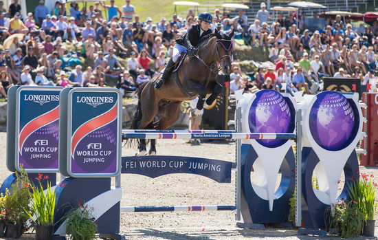 Longines Show Jumping Event: New season of the Longines FEI World CupTM Jumping North American League opens with the victory of Jonathan McCrea in Bromont 5