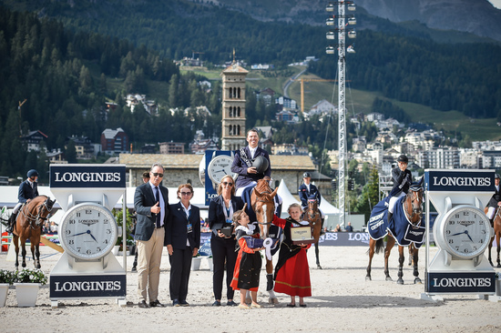 Longines Show Jumping Event: Kent Farrington (USA) wins the Longines Grand Prix of St. Moritz 2