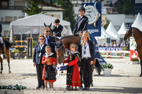 Longines Show Jumping Event: Kent Farrington (USA) wins the Longines Grand Prix of St. Moritz 3