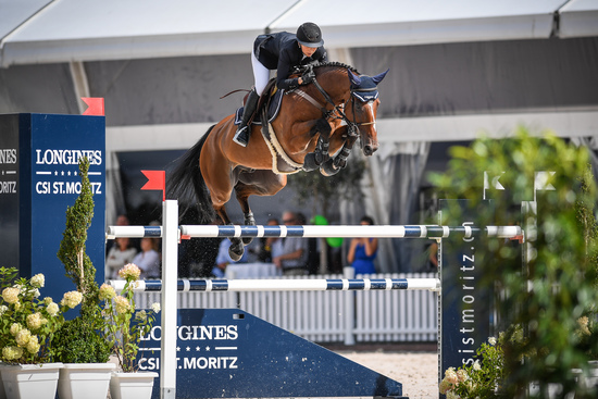 Longines Show Jumping Event: Kent Farrington (USA) wins the Longines Grand Prix of St. Moritz 4