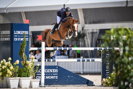 Longines Show Jumping Event: Kent Farrington (USA) wins the Longines Grand Prix of St. Moritz 5