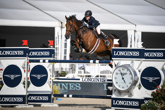 Longines Show Jumping Event: Robert Whitaker (GBR) wins the Grand Prix Longines of the City of Lausanne 2