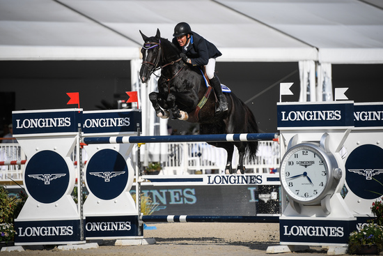 Longines Show Jumping Event: Robert Whitaker (GBR) wins the Grand Prix Longines of the City of Lausanne 3