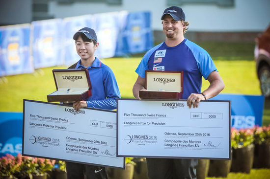 Longines Archery Event: The 2016 Longines Prize for Precision awarded to Brady Ellison and Tan Ya-Ting 1