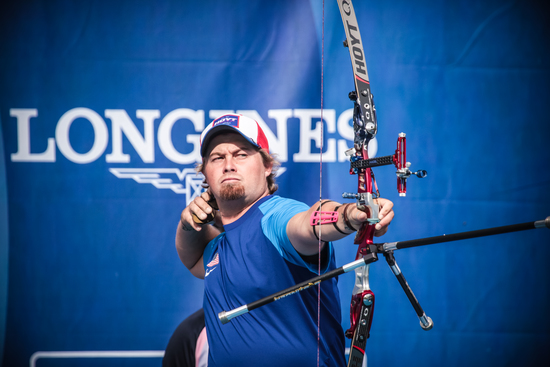 Longines Archery Event: The 2016 Longines Prize for Precision awarded to Brady Ellison and Tan Ya-Ting 2