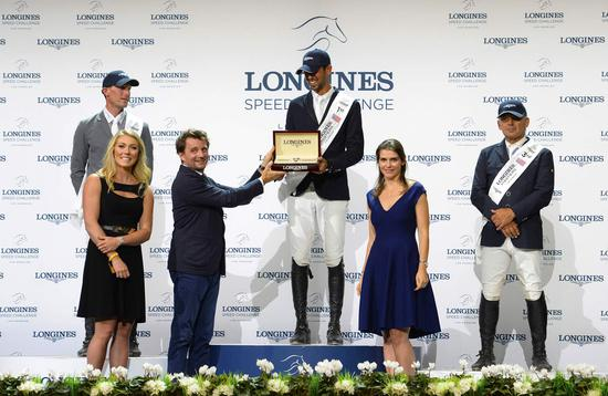 Longines Show Jumping Event: Longines Speed Challenge: Nayel Nassar and Lordan are the fastest 2