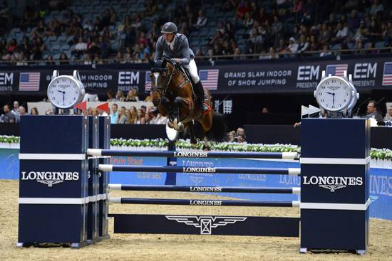 Longines Show Jumping Event: Longines Speed Challenge: Nayel Nassar and Lordan are the fastest 3