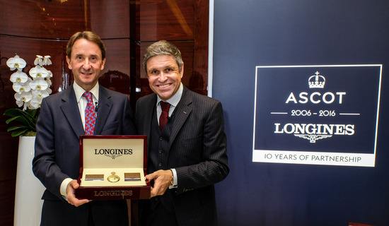 Longines Flat Racing Event: Longines celebrates its 10-year partnership with Ascot  in its London boutique 1