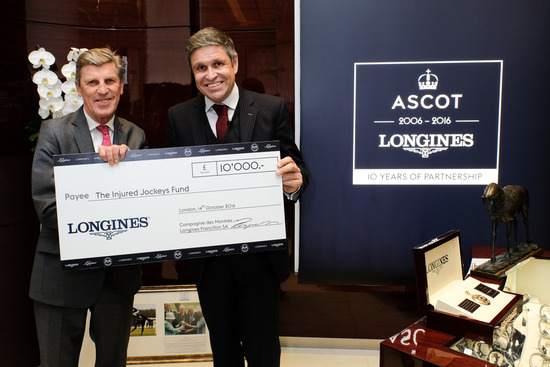 Longines Flat Racing Event: Longines celebrates its 10-year partnership with Ascot  in its London boutique 4