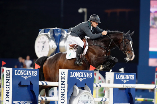 Longines Show Jumping Event: Rolf-Göran Bengtsson won the Longines Global Champions Tour 2016 after a final full of suspense in Doha 3