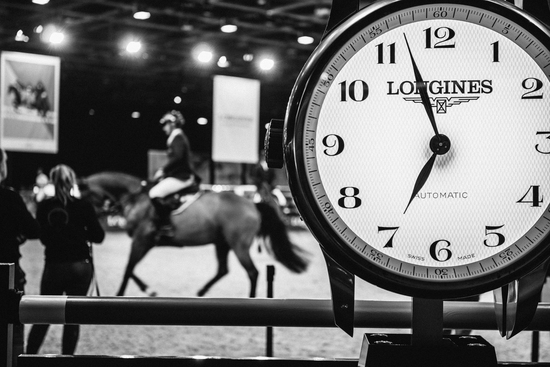 Longines Show Jumping Event: Longines is looking forward to seeing the top international riders competing in the glamorous atmosphere of the Longines Masters of Paris 1