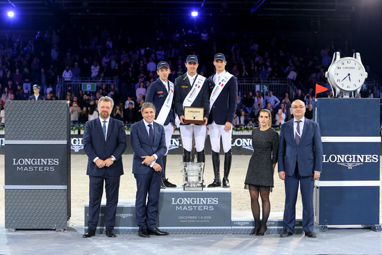 Longines Show Jumping Event: Gregory Wathelet, champion of the Longines Masters of Paris 1