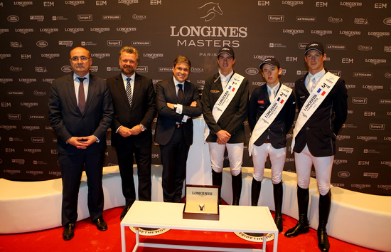 Longines Show Jumping Event: Gregory Wathelet, champion of the Longines Masters of Paris 2