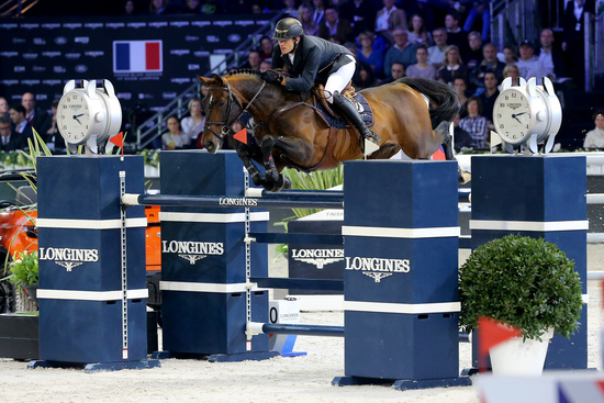 Longines Show Jumping Event: Gregory Wathelet, champion of the Longines Masters of Paris 3