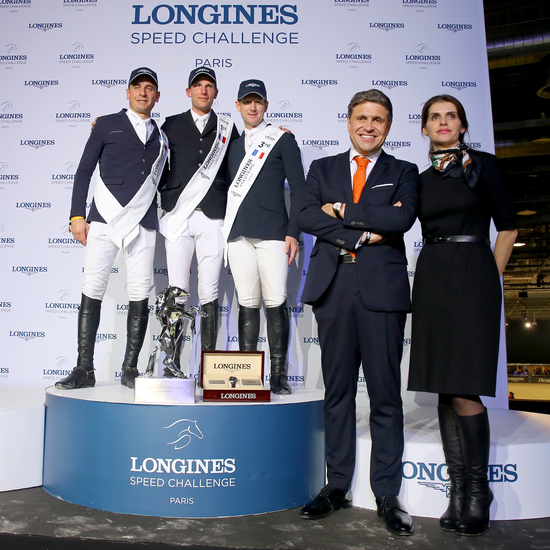 Longines Show Jumping Event: Gregory Wathelet, champion of the Longines Masters of Paris 8