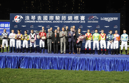Longines Flat Racing Event: An electric atmosphere for the Longines International Jockeys' Championship 2016 2