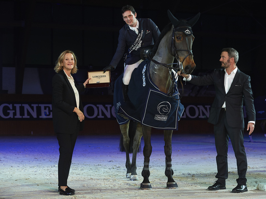 Longines Show Jumping Event: Carlos Enrique Lopez Lizarazo and Admara 2 galloped to victory at the Longines FEI World Cup™ Jumping in La Coruña  1
