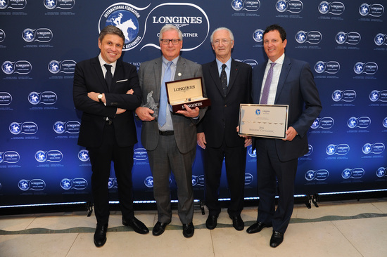 Longines Equestrian Event: Arrogate named the 2016 Longines World's Best Racehorse, while the Breeders' Cup Classic was crowned 2016 Longines World's Best Horse Race 2