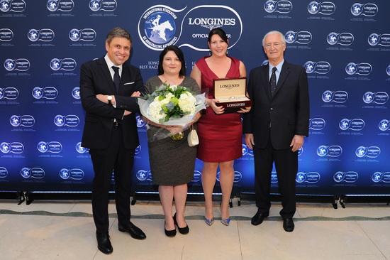 Longines Equestrian Event: Arrogate named the 2016 Longines World's Best Racehorse, while the Breeders' Cup Classic was crowned 2016 Longines World's Best Horse Race 3