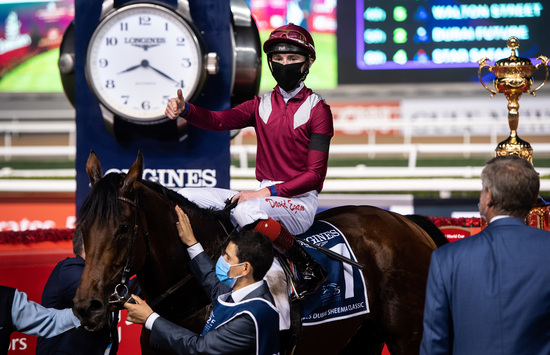 Longines Flat Racing Event: Longines times the victory of Mystic Guide in the 25th Dubai World Cup 7