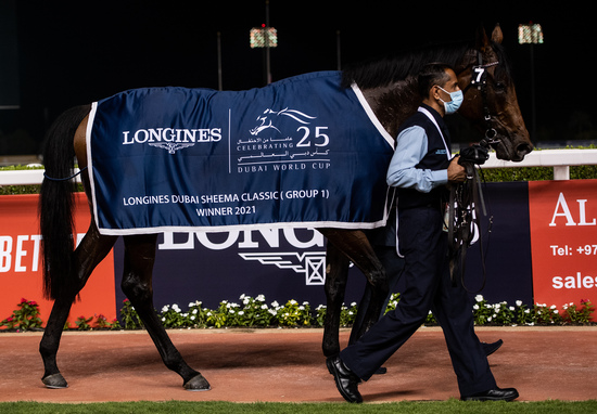 Longines Flat Racing Event: Longines times the victory of Mystic Guide in the 25th Dubai World Cup 4
