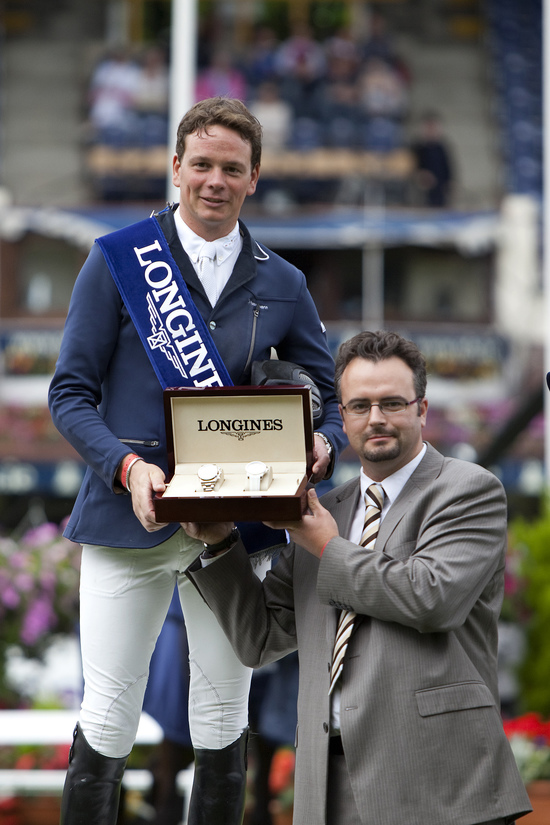 Longines Show Jumping Event: CSIO Dublin - The winners of the Longines Press Award for Elegance 1