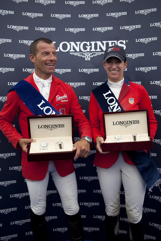 Longines Show Jumping Event: CSIO Dublin - The winners of the Longines Press Award for Elegance 3