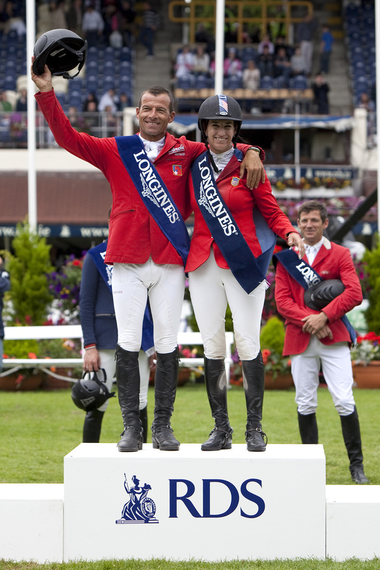 Longines Show Jumping Event: CSIO Dublin - The winners of the Longines Press Award for Elegance 4