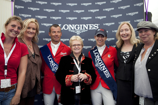 Longines Show Jumping Event: CSIO Dublin - The winners of the Longines Press Award for Elegance 5