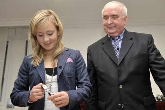 Longines Gymnastics Event: Ariella Kaeslin visits Longines headquarters 5