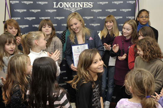 Longines Gymnastics Event: Ariella Kaeslin visits Longines headquarters 8