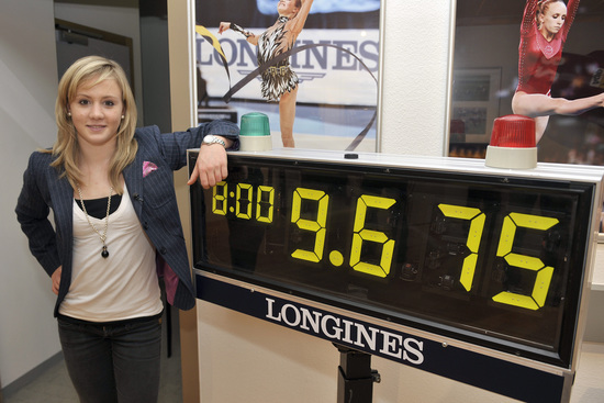 Longines Gymnastics Event: Ariella Kaeslin visits Longines headquarters 9