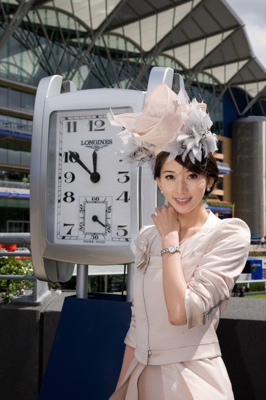 Longines Flat Racing Event: The Asian star Chi Ling Lin discovers the prestigious glamour of Royal Ascot 1