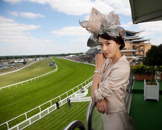 Longines Flat Racing Event: The Asian star Chi Ling Lin discovers the prestigious glamour of Royal Ascot 4